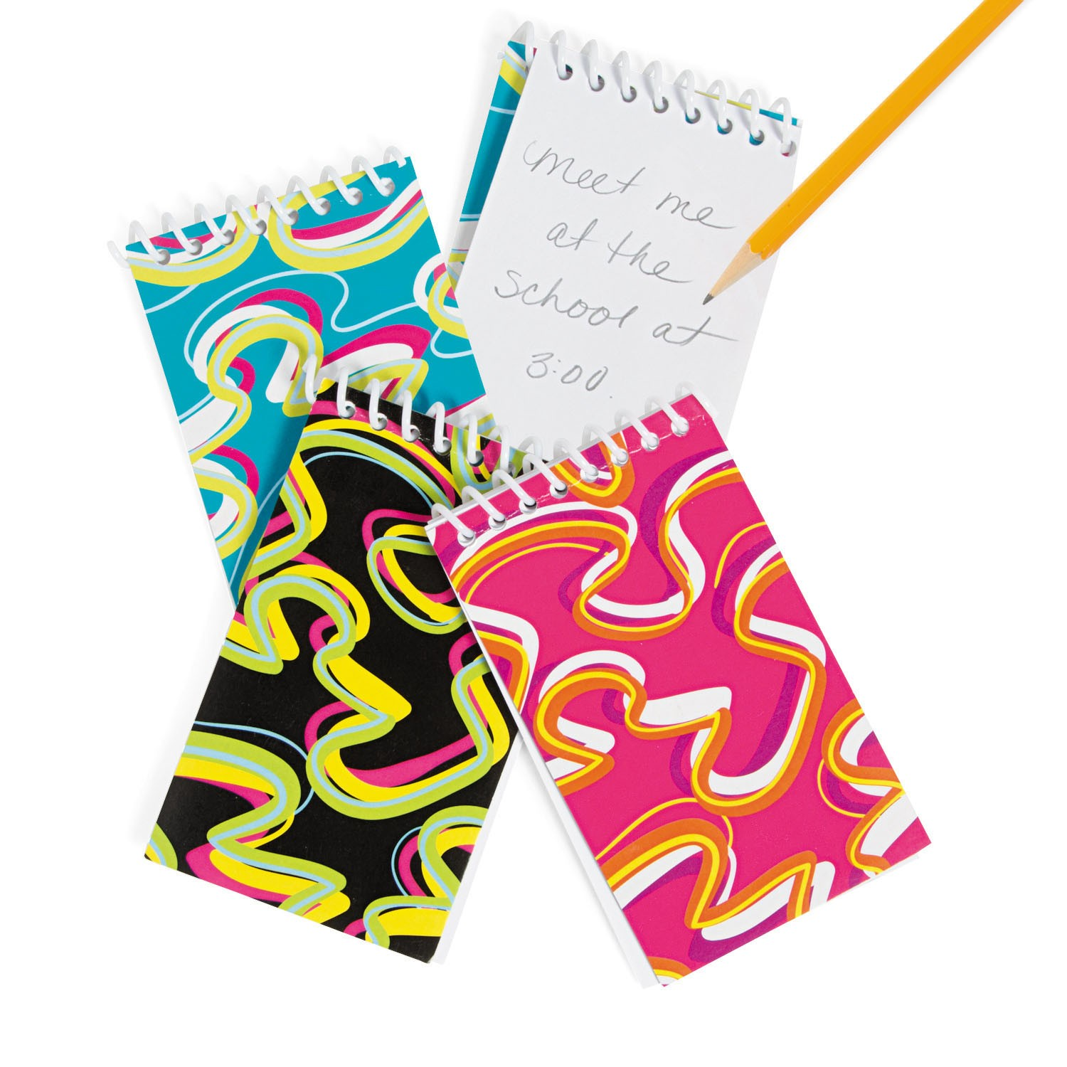 Crazy Wave Memo Pads