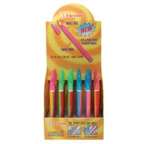 Rainbow Eraser Barrel Pop Pencils