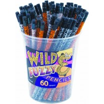 Wild and Fuzzy Pencils