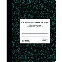 Bazic Quad Ruled Comp Books