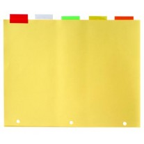 Bazic 5 Tab Looseleaf Index Dividers