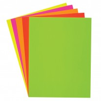 Assorted Neon Poster Board