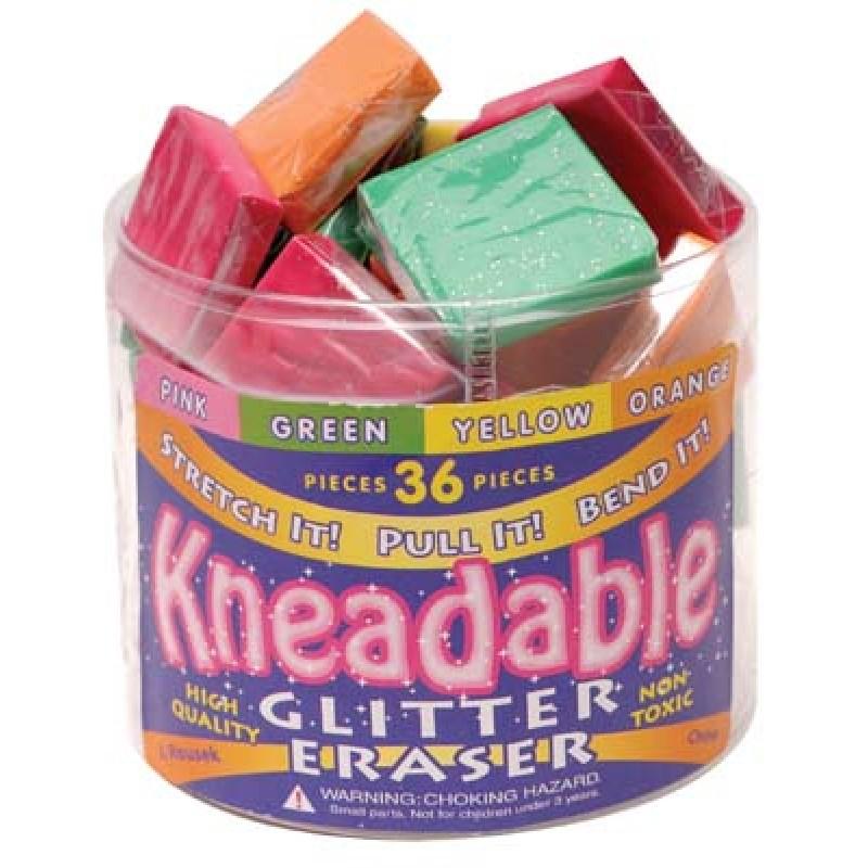 Glitter Kneader Eraser  151318