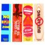 No Bully Zone Satin Ribbon Bookmarks