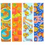 Emoji Satin Ribbon Bookmarks