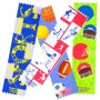Super Sports Satin Ribbon Bookmarks