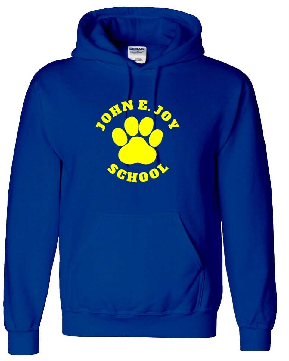 John Joy Paw Print Hoodies