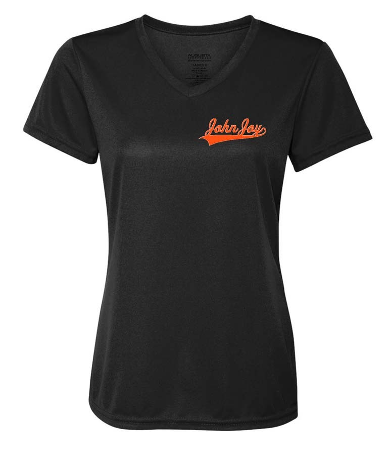 John Joy Ladies Dry Fit V Neck Tees