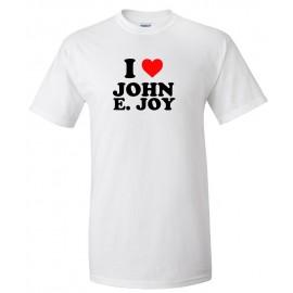 I Heart John Joy 100% Cotton T-Shirts