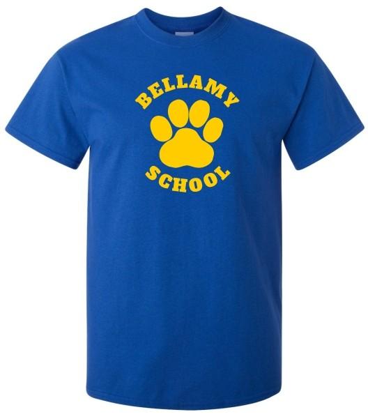 Bellamy Paw Print Tee Shirts