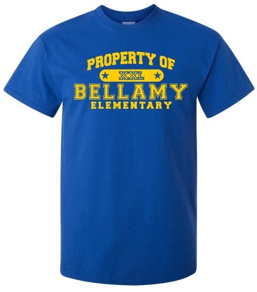 Property Of Bellamy Elem. Tee