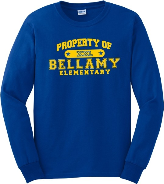Property Of Bellamy Elem. Long Sleeve T-Shirt