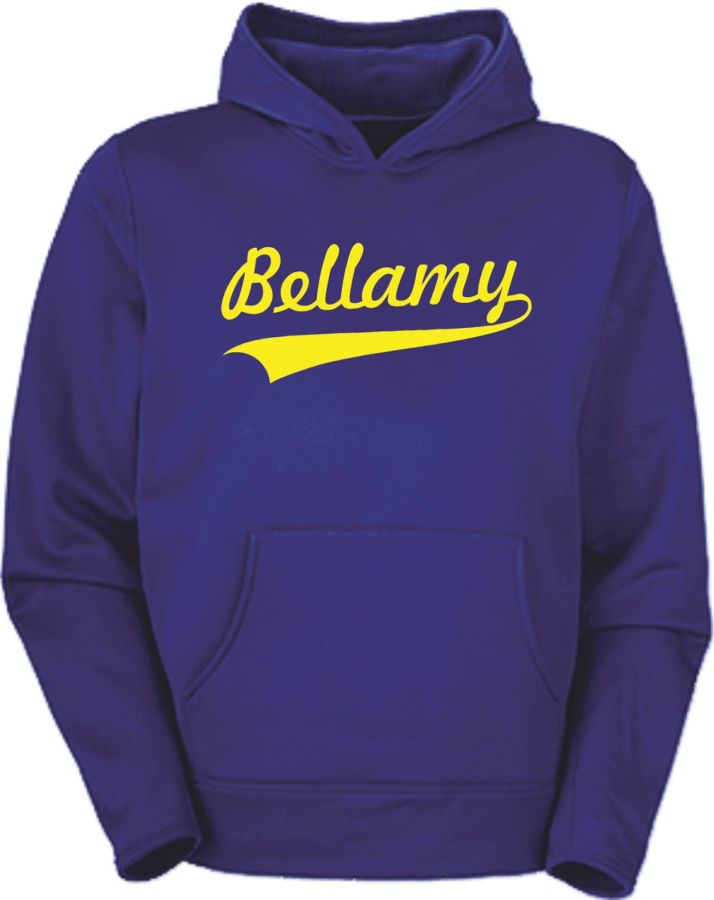 Bellamy Swoosh Pullover Hoodies