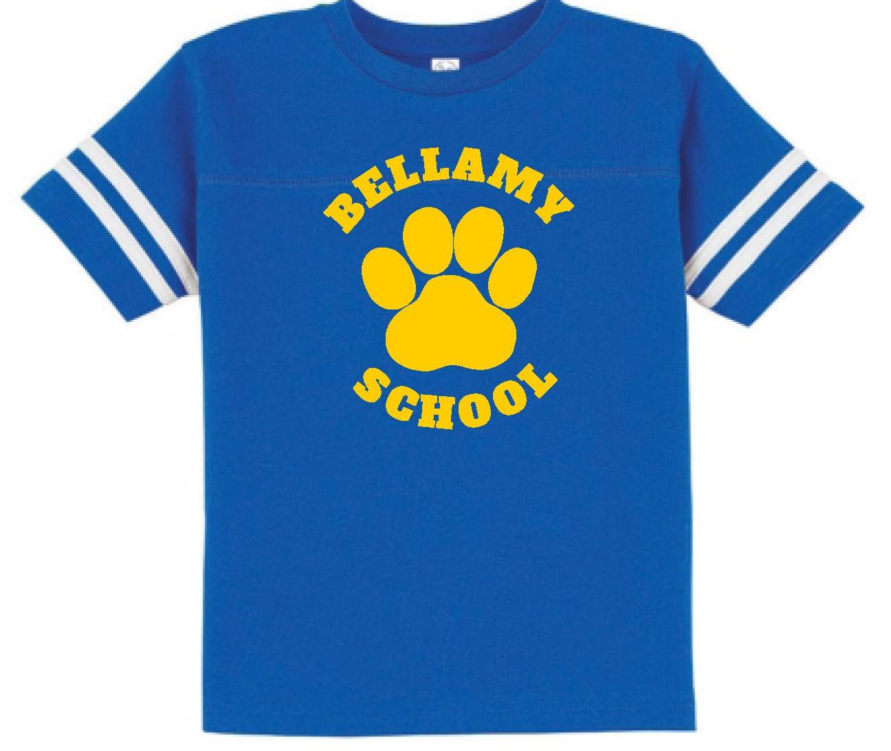 Bellamy Paw Two Stripe Jersey