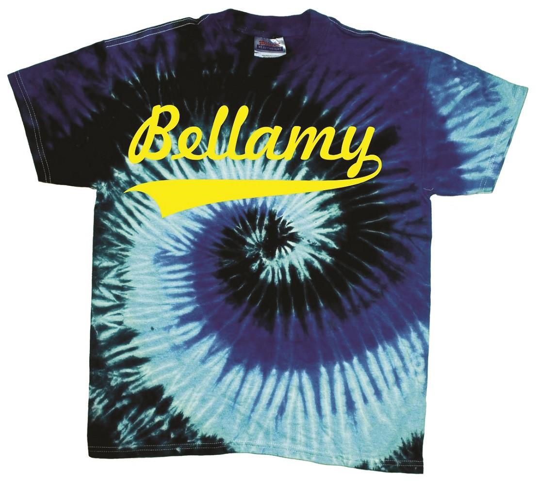 Bellamy Swoosh Tye Dye T-Shirts