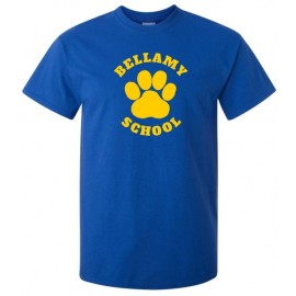 Bellamy Paw Print Tee Shirts