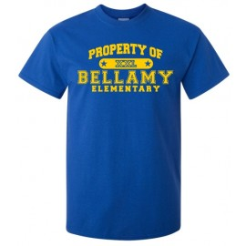 Property Of Bellamy Elem. Tee