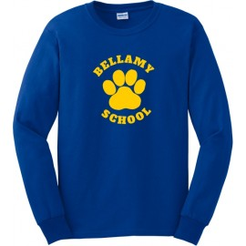 Bellamy Long Sleeve Paw Print T-Shirts