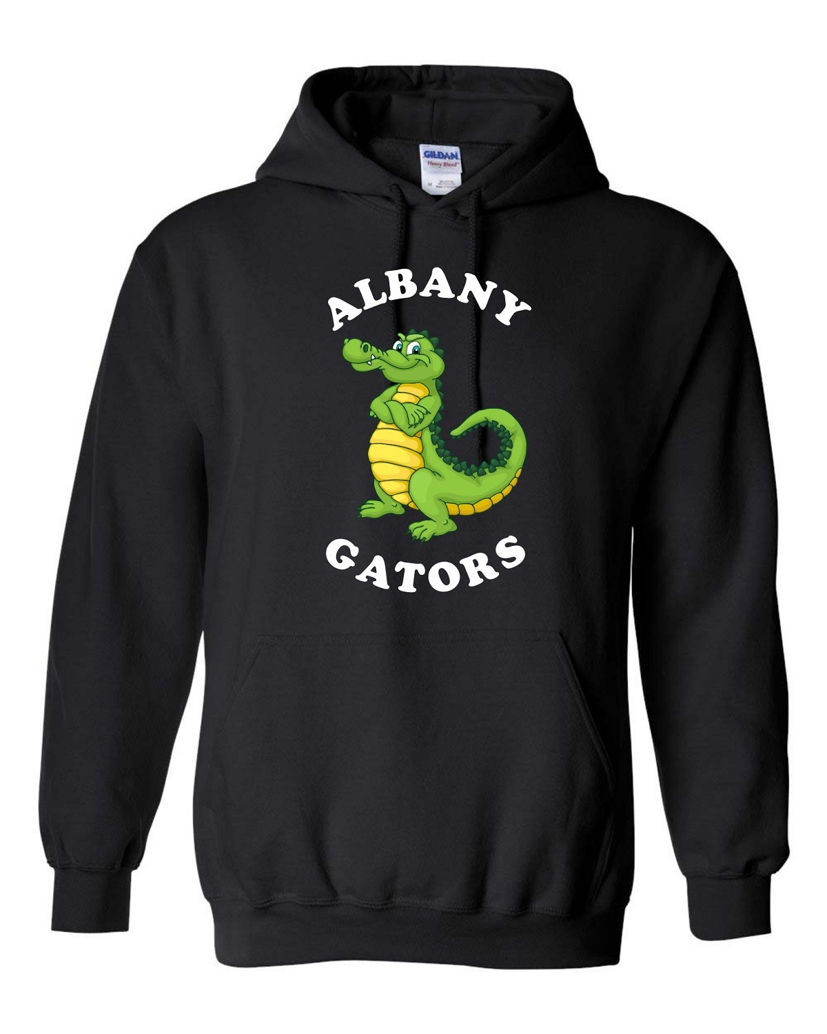 Albany Stand Up Gator Hoodie