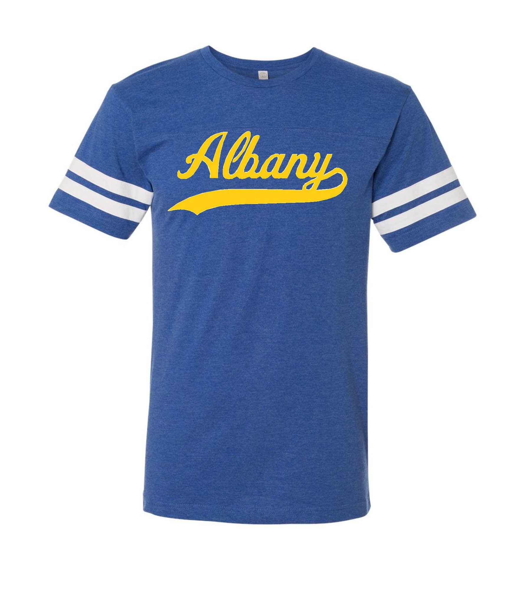 Albany Swoosh Two Stripe Jerseys