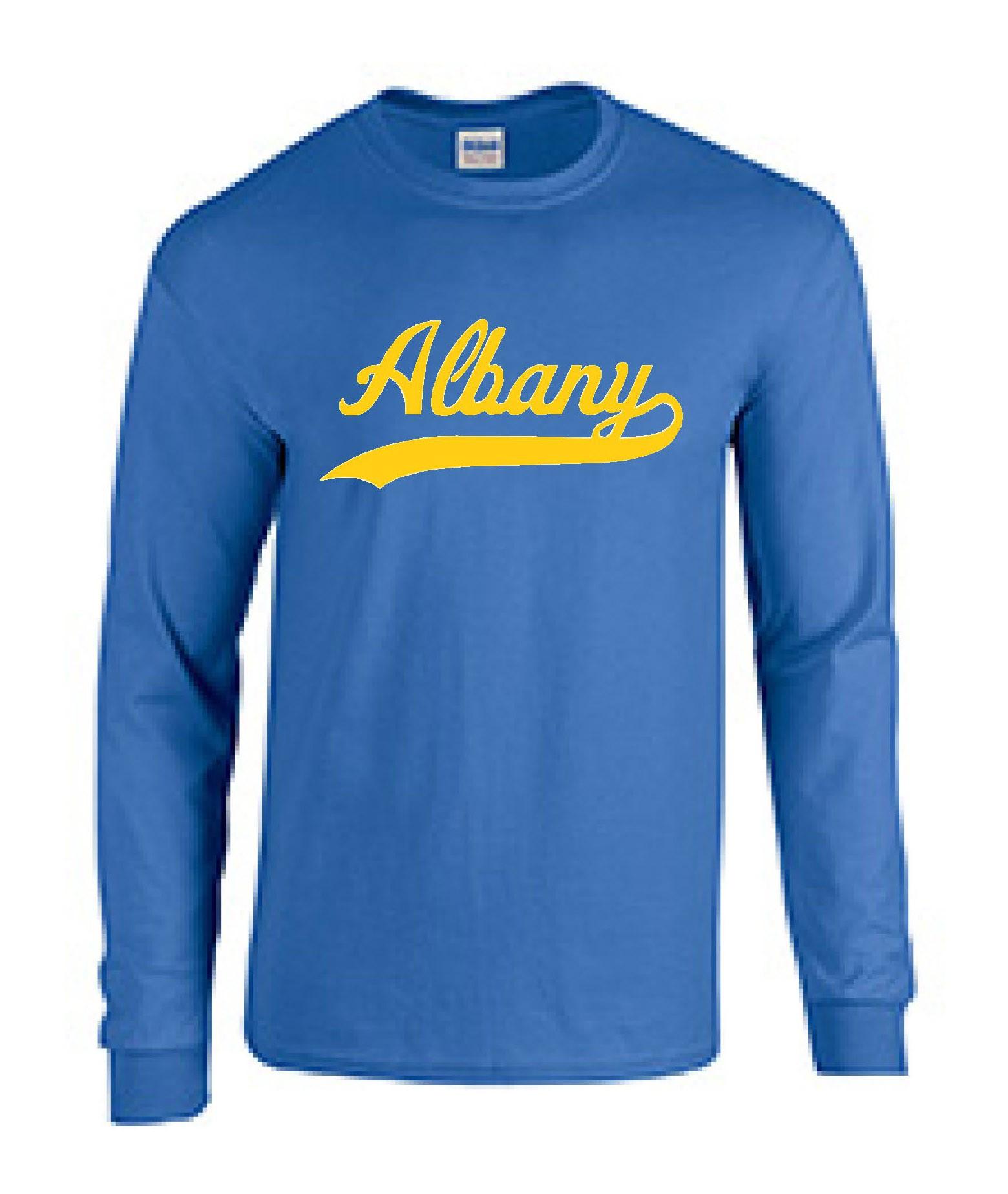 Albany Swoosh Long Sleeve T-Shirt