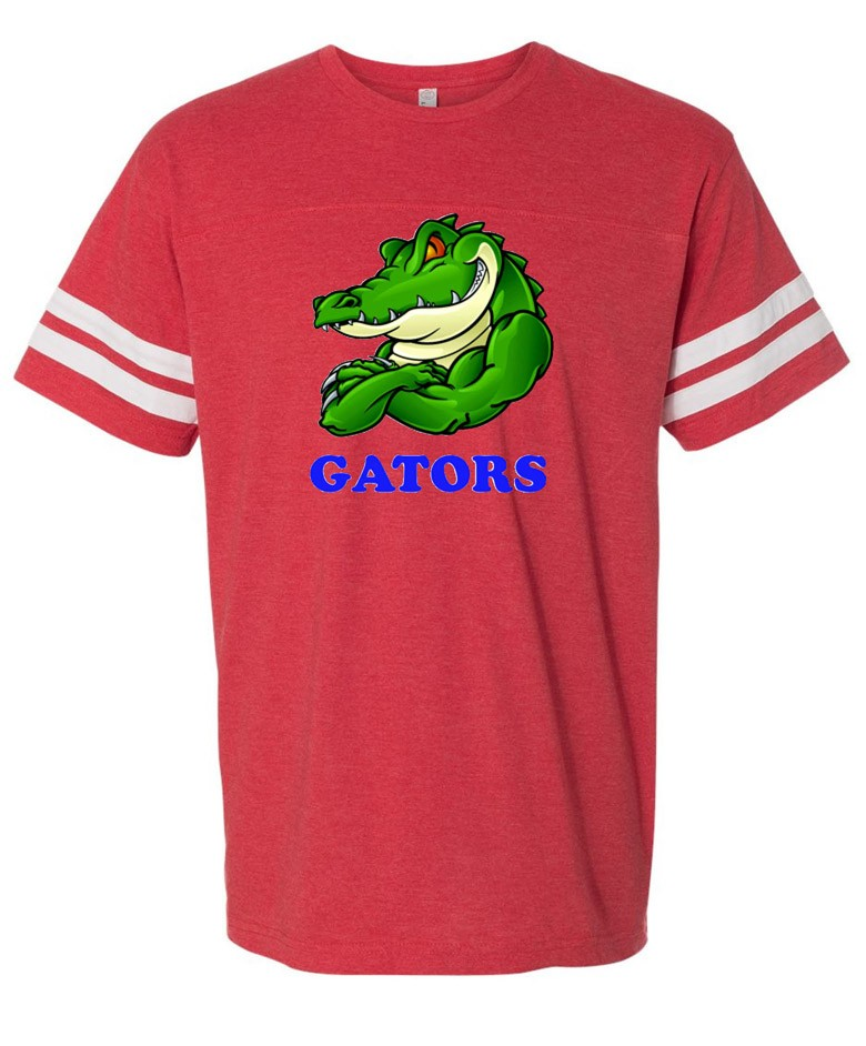 Albany Gator Guy Two Stripe Jersey