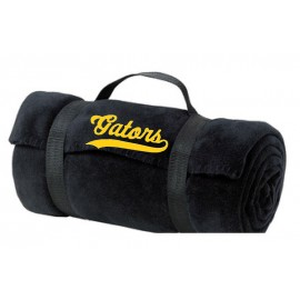 Albany Gators Fleece Blanket With Carry Strap