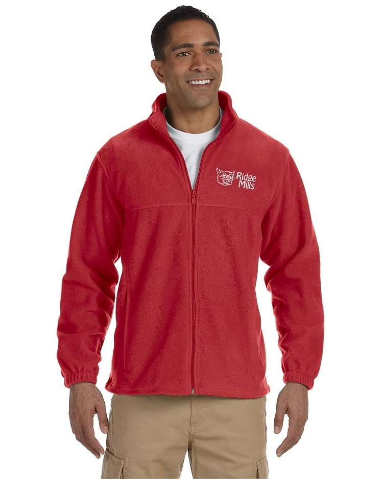 Ridge Mills Wildcats Full-Zip Fleece