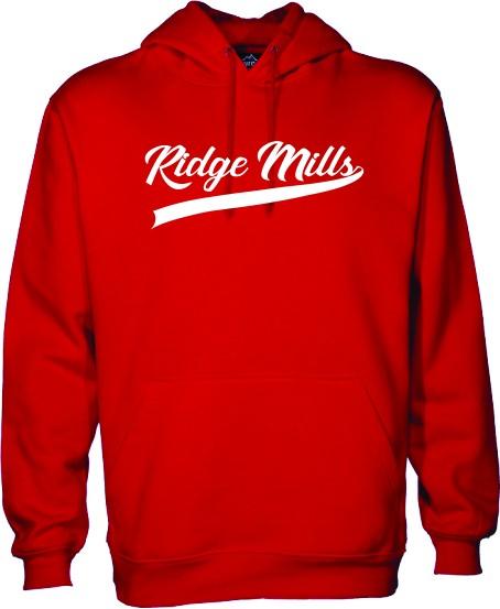 Ridge Mills Swoosh Pullover Hoodie