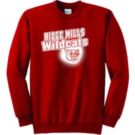 Ridge Mills Wildcats  Fleece Sweatshirt