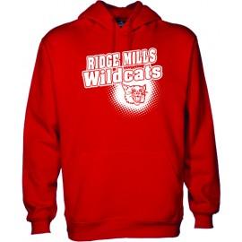Ridge Mills Wildcats Pullover Hoodie