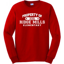 Property Of Ridge Mills Long Sleeve Tee