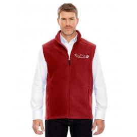 Ridge Mills Paw Print Fleece Vest