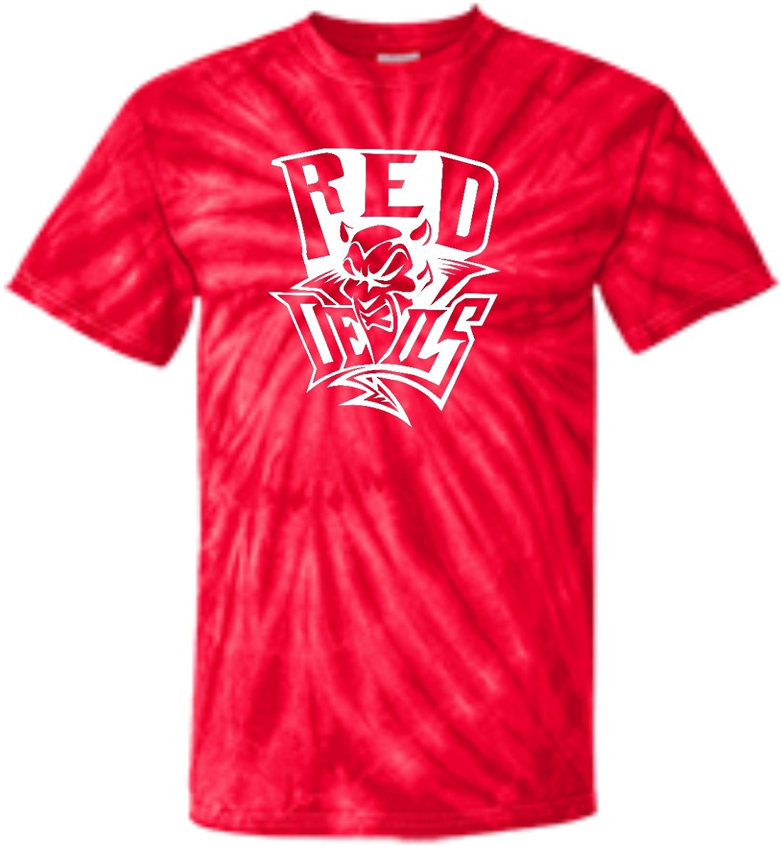 VVS Red Devils 100% Cotton Tye Dye T-Shirts