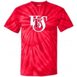 VVS Script Logo 100% Cotton Tye Dye T-Shirts