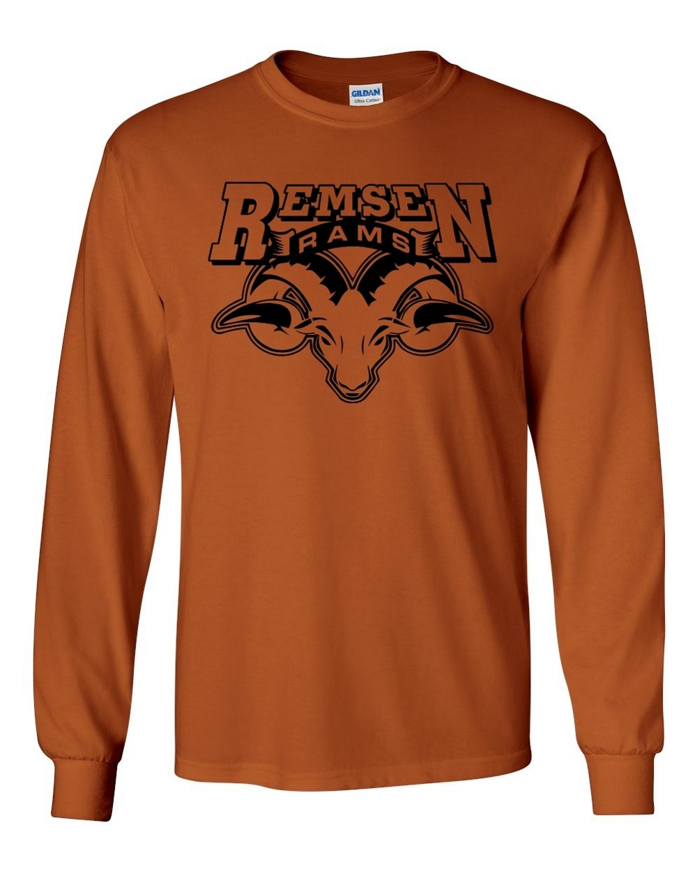 Remsen Rams Long Sleeve Tee