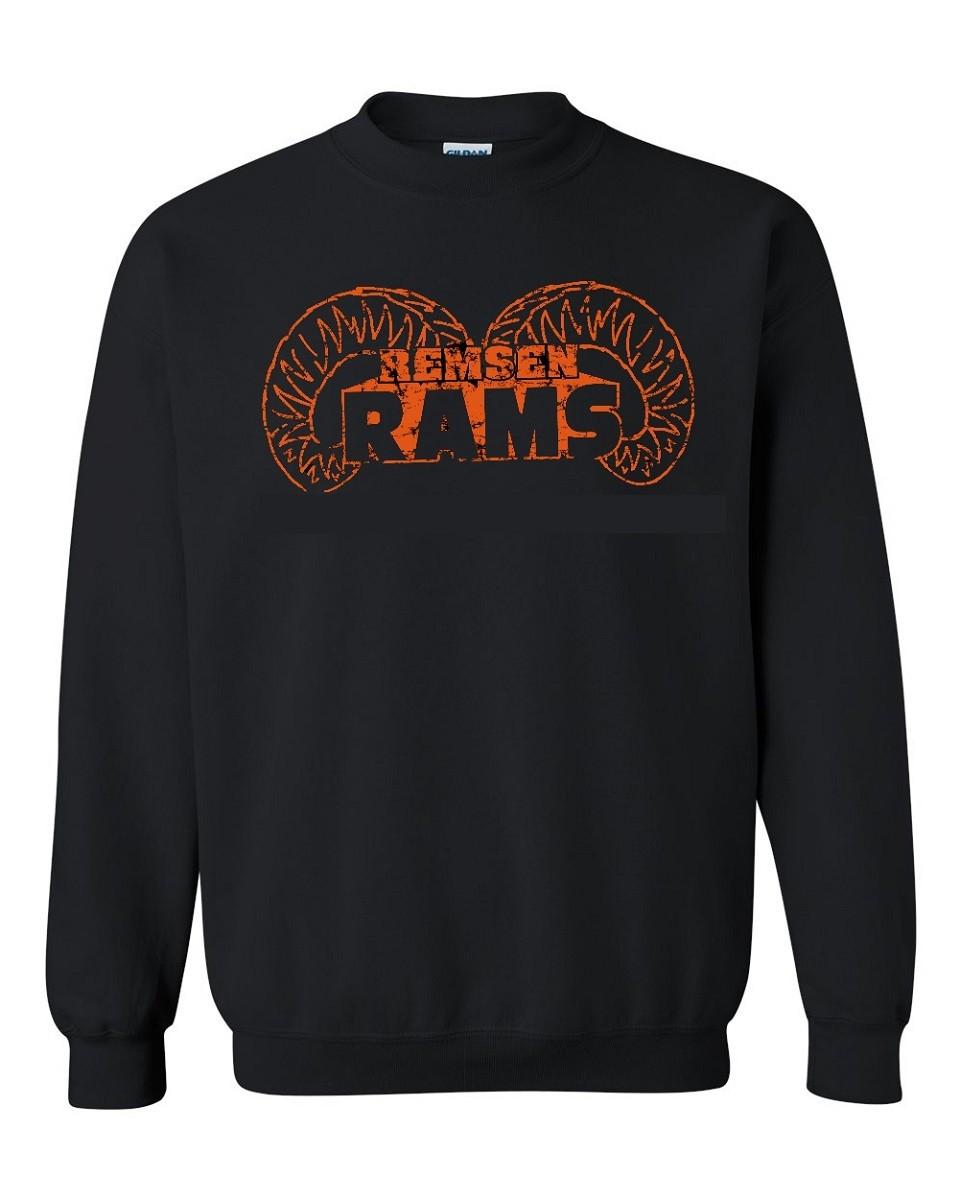 Remsen Ram Horns Sweatshirt