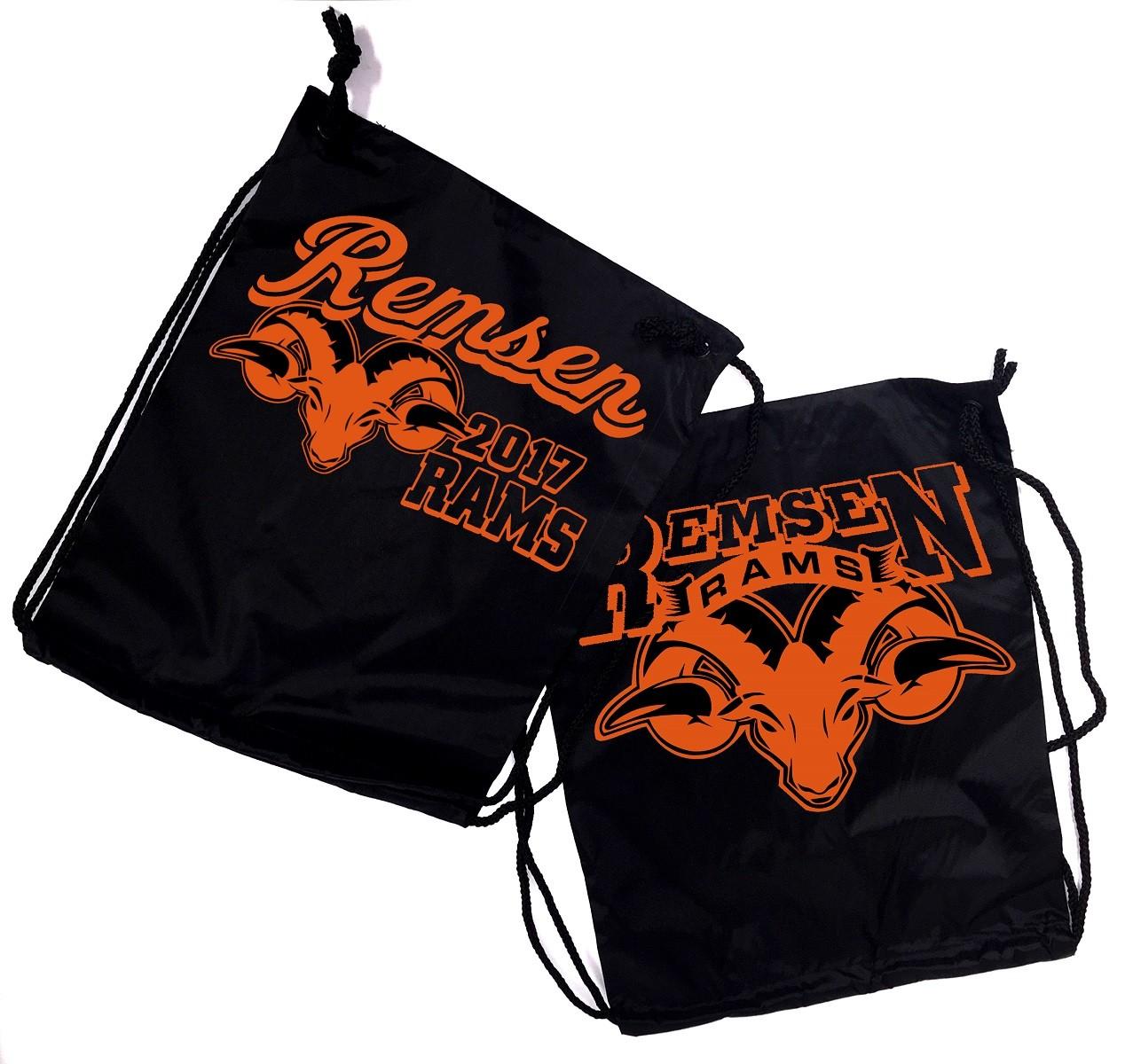 Remsen Rams Drawstring Backpacks