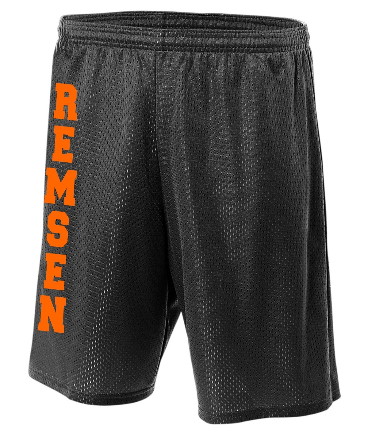 Remsen Rams Lined Tricot Mesh Shorts
