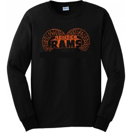 Remsen Ram Horns Long Sleeve Tee