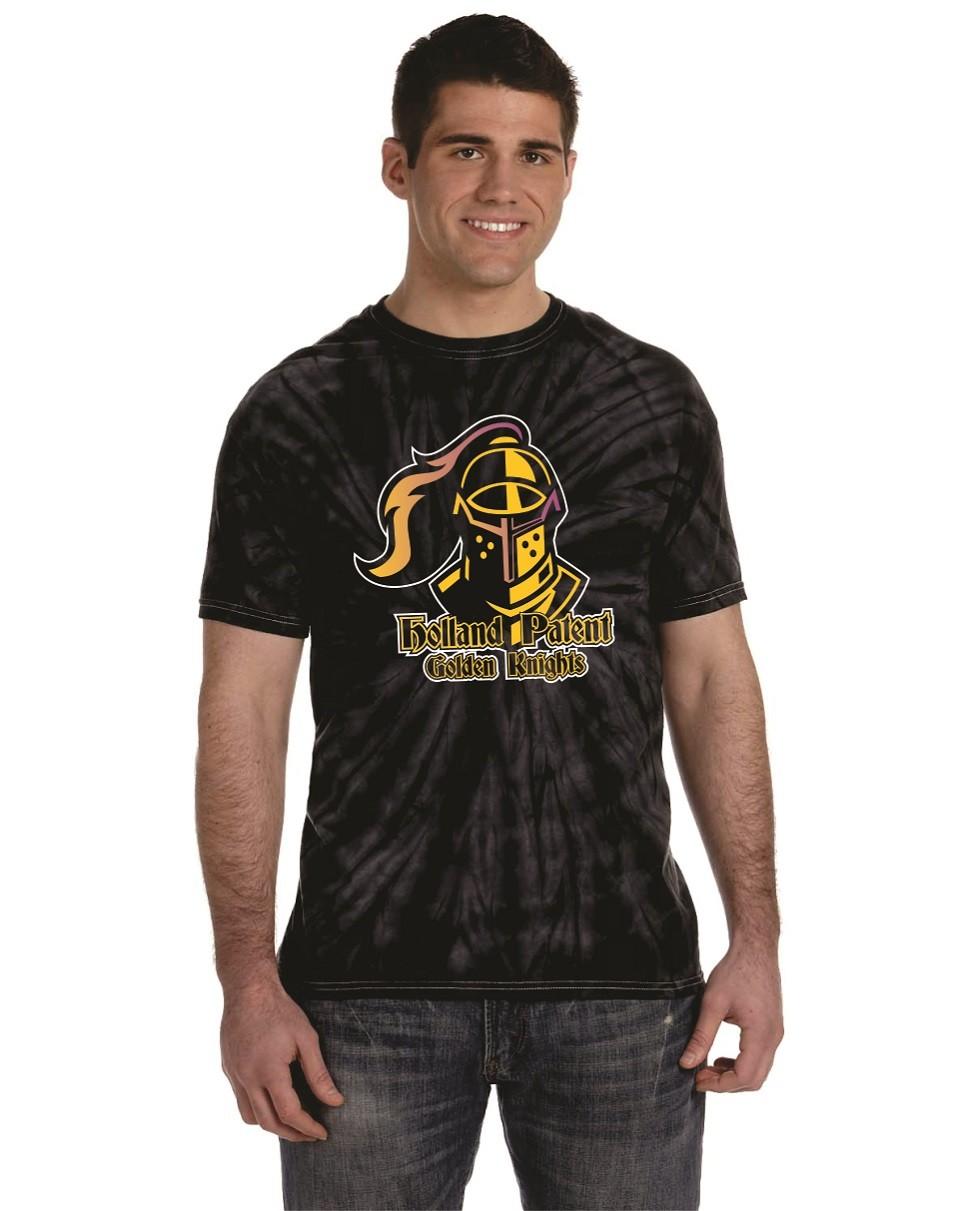 Holland Patent Golden Knights Tye Dye T-Shirts