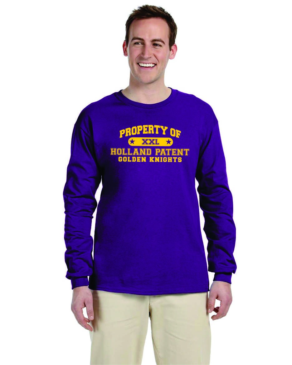 Property Of Holland Patent Long Sleeve Tee