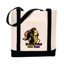 Holland Patent Golden Knights Canvas Totebag