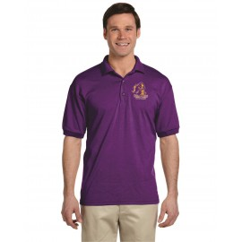 Holland Patent Golden Knights Gildan Dryblend Polo