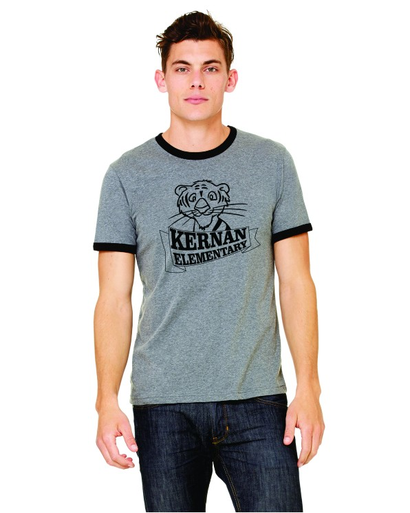 cd6ed25cb Kernan Tigers Ringer Tee the Kernan Tigers Webstore