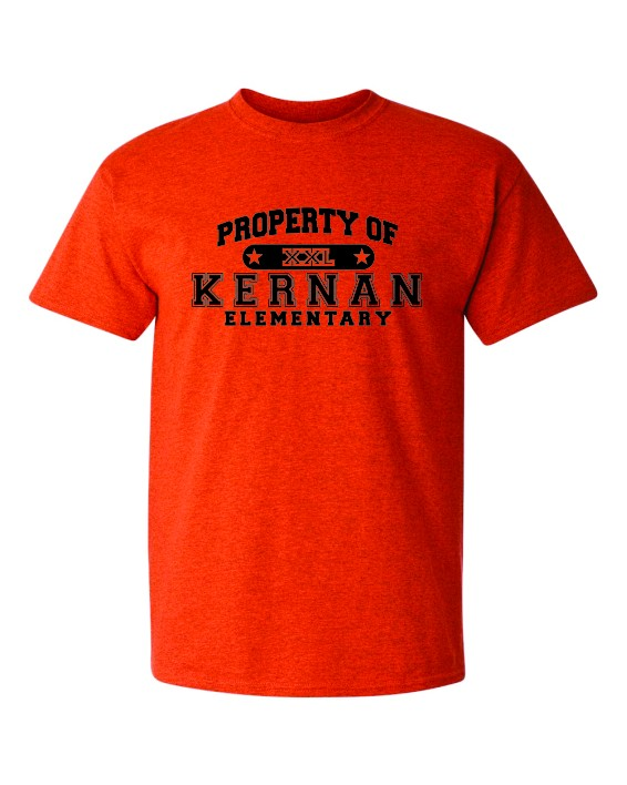 Property Of Kernan Elem. Tee