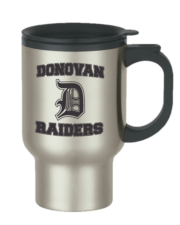 Donovan Stainless Steel Travel Mug