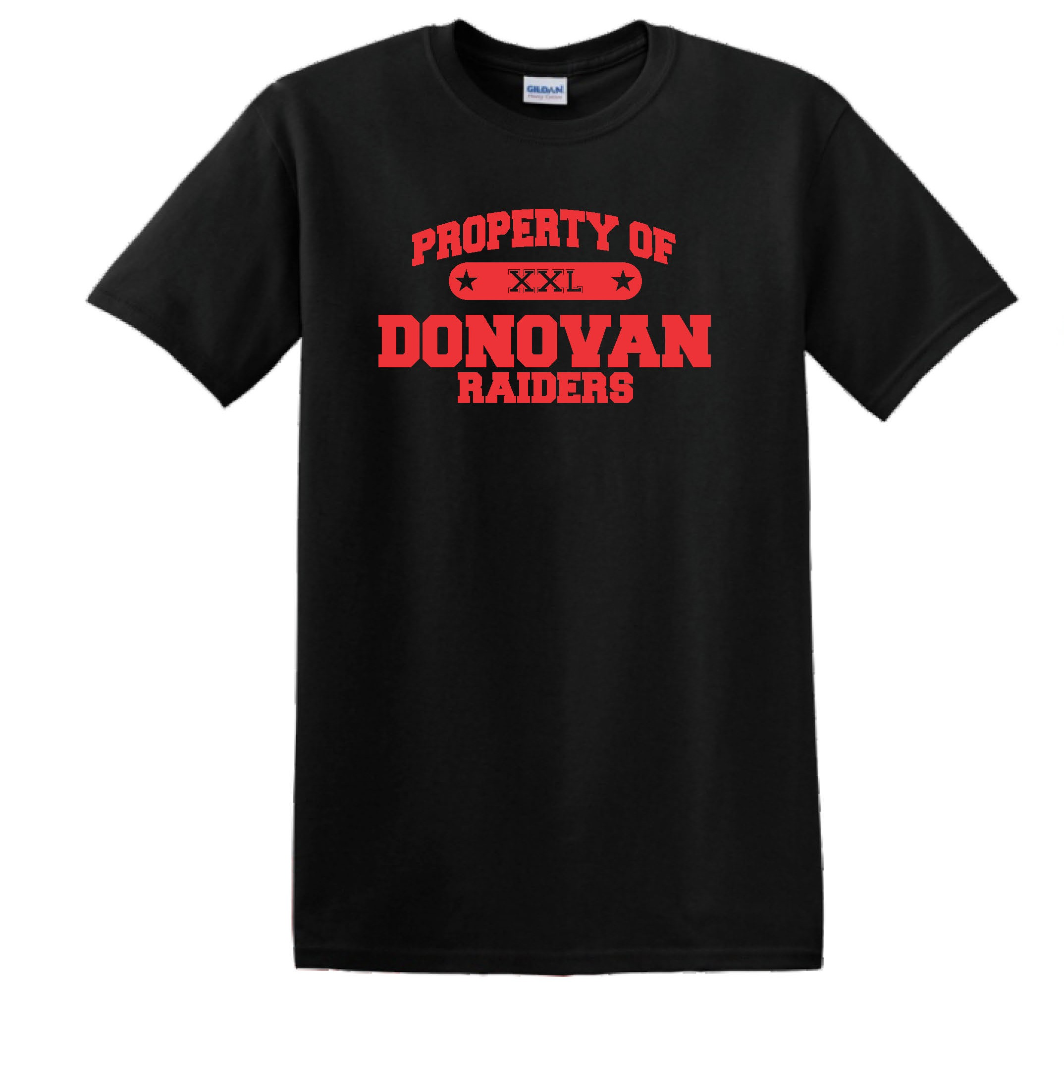 Property Of Donovan Bella Canvas Tee