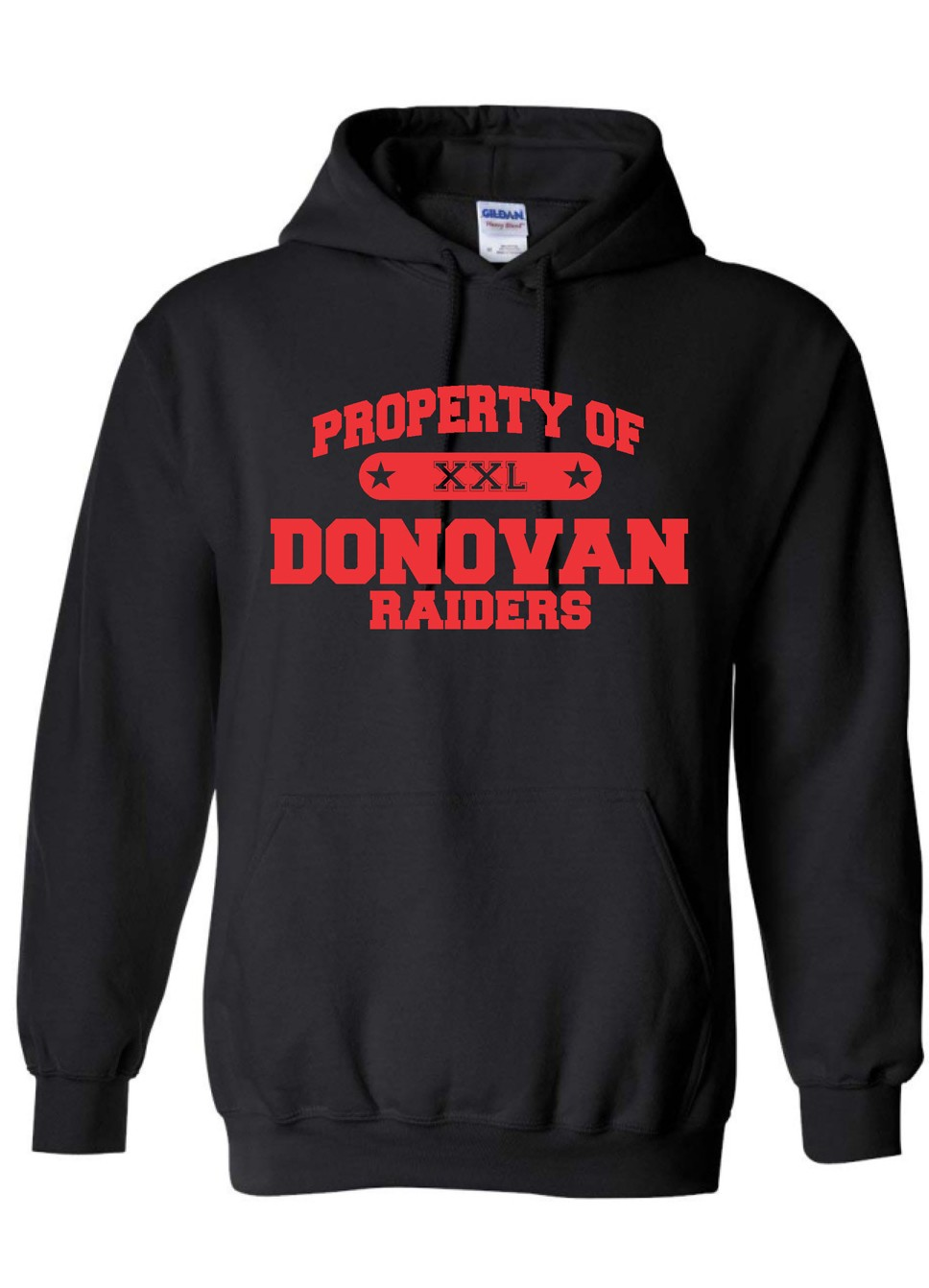 Property Of Donovan Bella-Canvas Hoodie