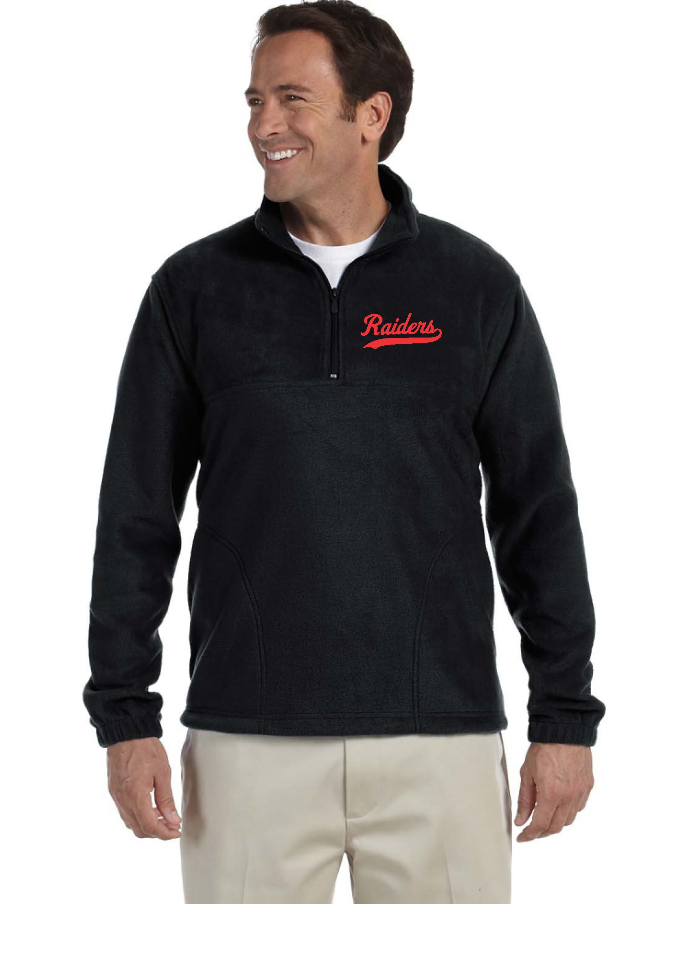 Raiders All Sport Quarter Zip Lightweight Pullover